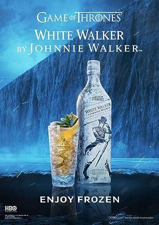 Johnnie Walker White Walker Whisky Escocés, Edición limitada Juego de Tronos - 700ml