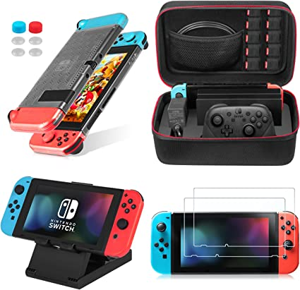 Keten Kit de Accesorios 13 en 1 para Nintendo Switch, Incluye una ...