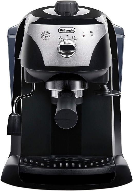 Delonghi ECC 221.B Cafetera Motivo Pump, café exprés y capuchino ...