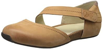 OTBT Women's Pacific City Mary Jane Flat, Brown Sugar, ...