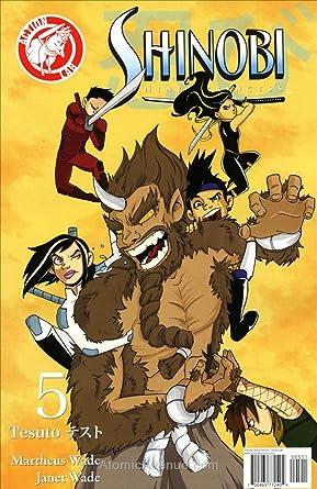Amazon.com: Shinobi Ninja Princess #5 VF/NM ; Action Lab ...
