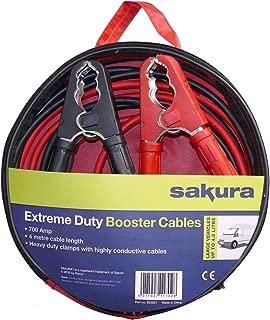 Sakura SS3627 Cable de Arranque, 700 Amp 4 metres