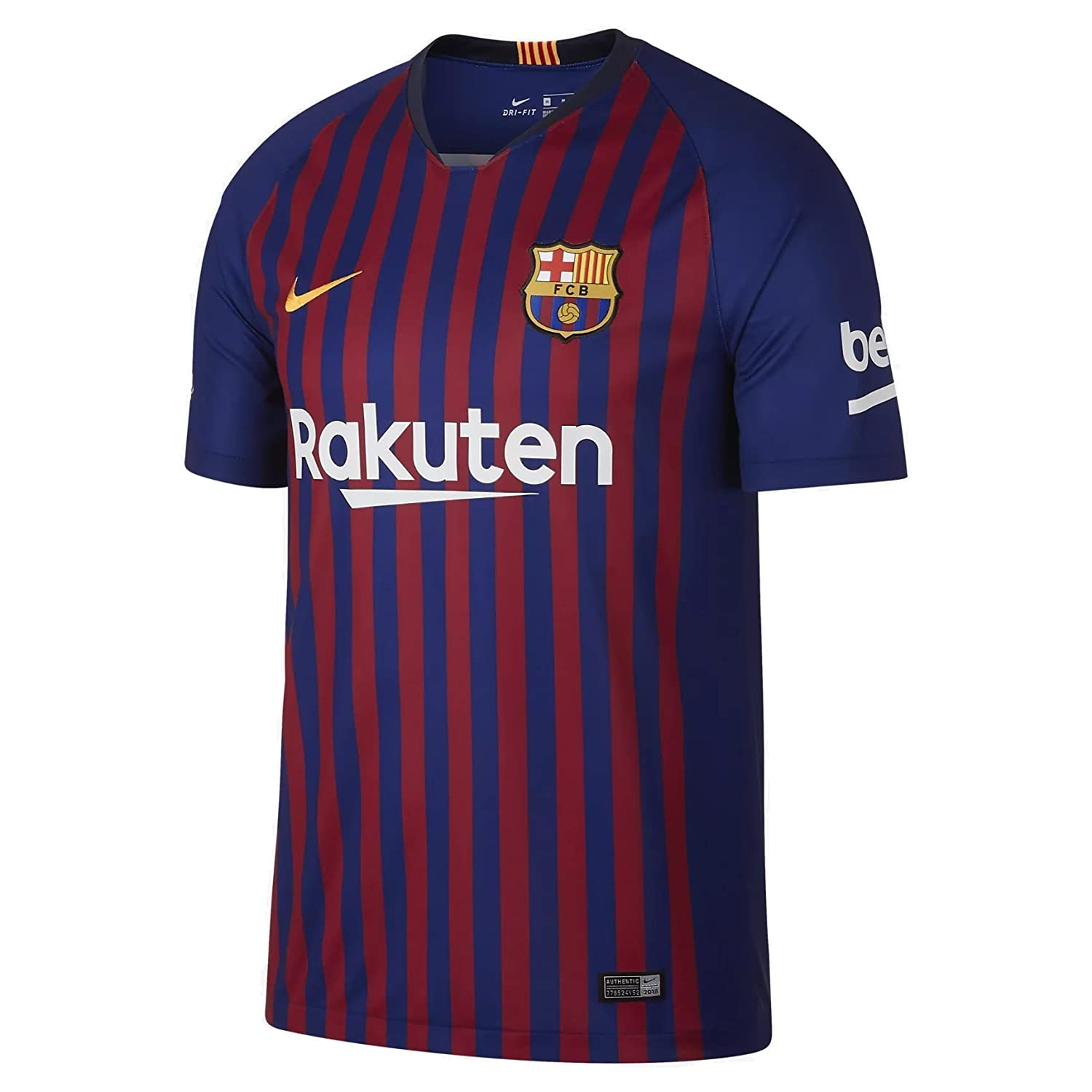 2018-2019 Barcelona Home Nike Football Shirt B077VVVH5F XL 46-48