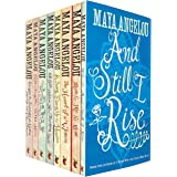 Maya Angelou 8 Books Collection Set (And Still I Rise,Mom and Me and Mom,The Heart Of A Woman,Song Flung Up to Heaven,All God