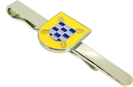 Gemelolandia Pasador de Corbata Escudo del Tercio del Duque de Alba Segundo de la Legión: Amazon.es: Ropa y accesorios