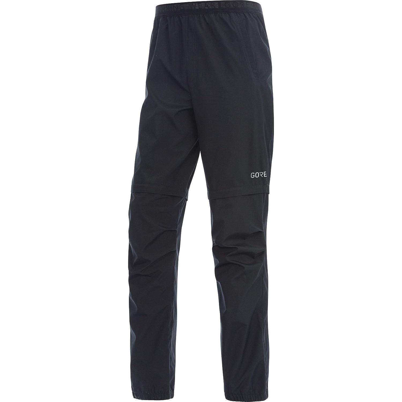 Gore Wear R3 Windstopper Pantalón Zip-Off, Hombre, Negro, L