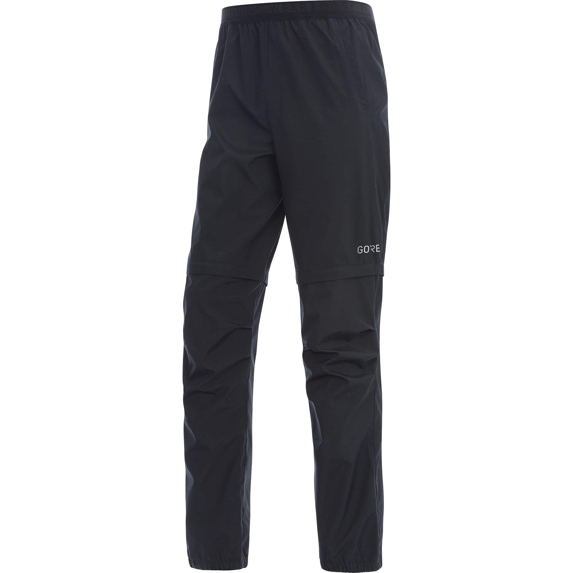 Gore Men's R3 Gws Zip-off Pants,  black,  M
