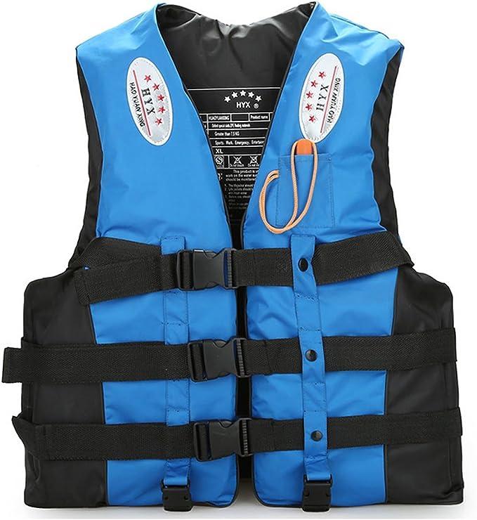 Whistle Adult Life Jacket Swim Buoyancy Aid Vest Sailing Kayak Safety Swimwear