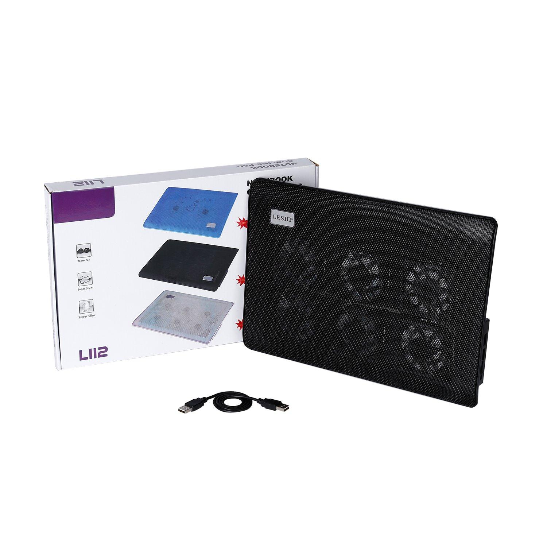 Laptop Cooling Pad,LESHP USB Laptop Fan (6 fans) by LESHP (Image #9)