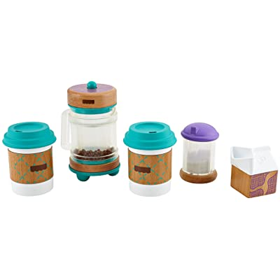 Fisher-Price Wooden Toys, Early Bird Barista Set: Toys & Games