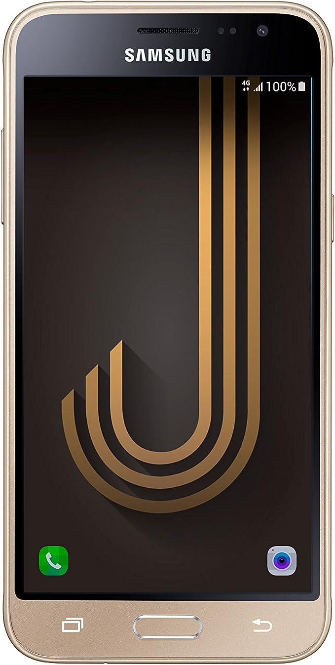 Samsung Galaxy J3, Smartphone Libre (5, 1.5GB RAM, 8GB, 8MP/Versión Italiana: No Incluye Samsung Pay ni Acceso a promociones Samsung Members), Color Dorado: Amazon.es: Electrónica