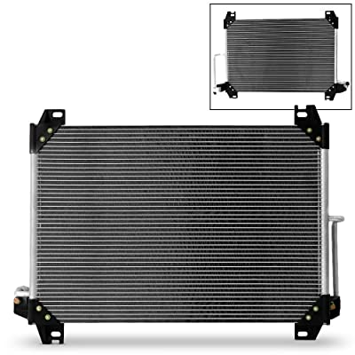 7-3054 Aluminum A/C Condenser For Buick Rainier Chevy Trailblazer GMC Envoy Oldsmobile Bravada Isuzu Ascender Saab 9-7x: Automotive