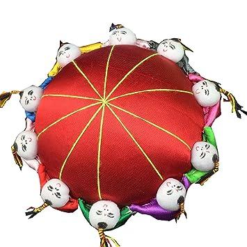 Amazon.com: rimobul Oriental Cojín de aguja Pin con 10 Kids ...