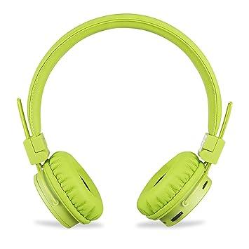 zoook zb-jazz Beats inalámbrico Auriculares Bluetooth de diadema con incorporado FM (verde)
