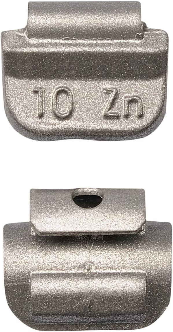 100x 10g Schlaggewichte Stahlfelgen Auswuchtgewichte Wuchtgewichte Gewichte 10 Gramm