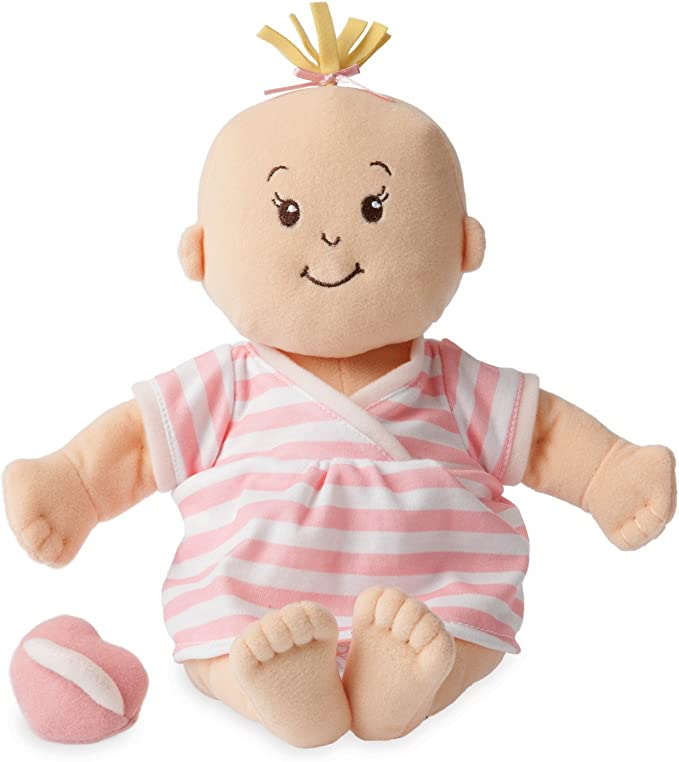 Manhattan Toy Baby Stella Soft First Baby Doll for Ages 1 Year and Up, 15