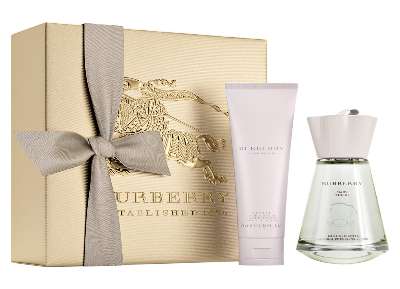 01d5188e98e2 BURBERRY Baby Touch without Alcohol Eau de Toilette 100 ml Gift Set   Amazon.co.uk  Luxury Beauty