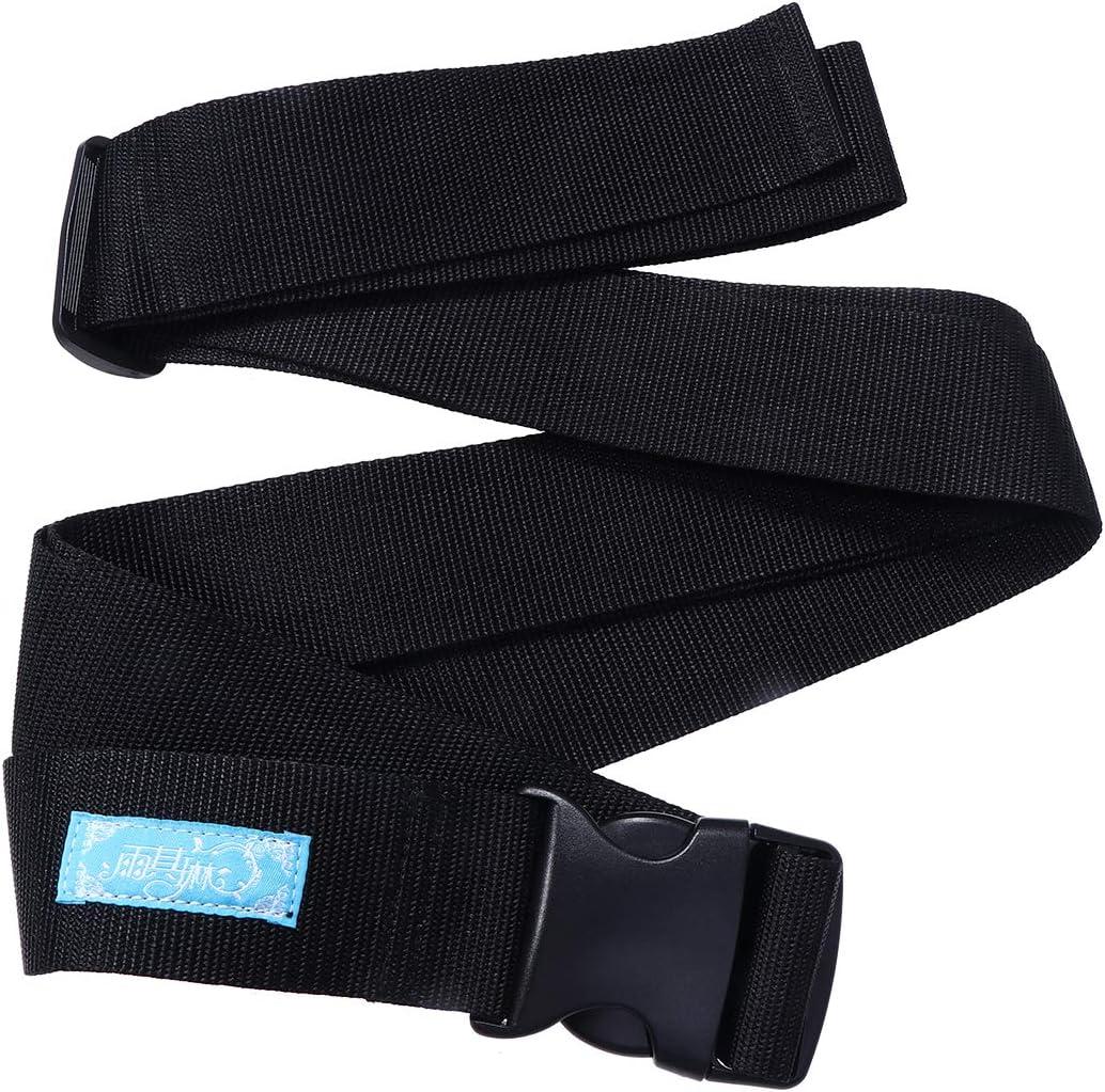 Healifty - Cinturón de sujeción para silla de ruedas con hebilla, 5 cm, para ancianos y niños, talla L
