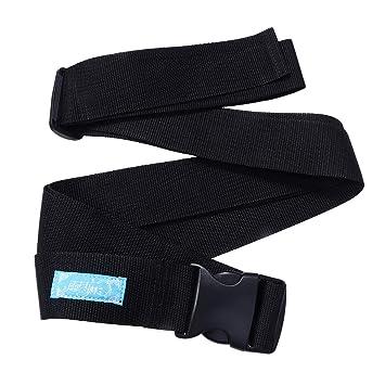 Healifty Correa de Regazo del cinturón de Seguridad para Silla de Ruedas de 5 cm con Hebilla para Ancianos y niños Talla L: Amazon.es: Hogar