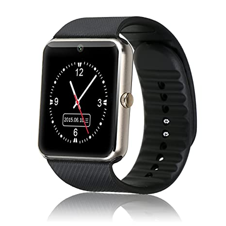 Amazon.com: Generic gt08 Bluetooth 3.0 Smart Watch con SIM ...