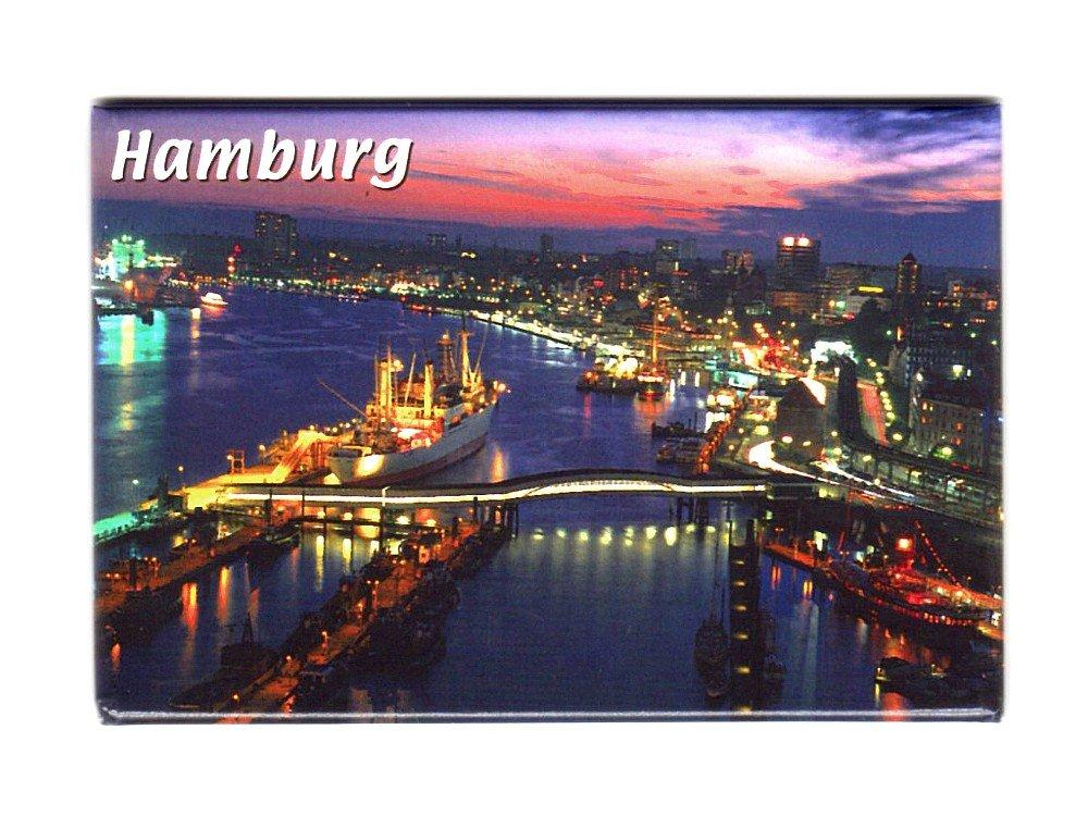 Magnet Luftbild Hamburg