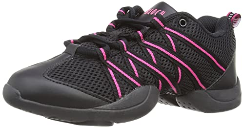 Bloch S0524 Criss Cross Sneaker Pink UK 1 EU 33 US 4