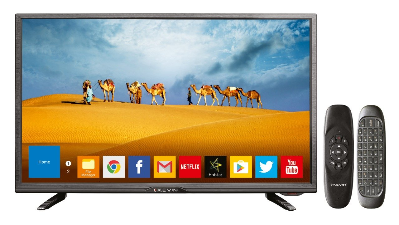 Kevin 80 cm (32 Inches) K100007AM HD Ready Smart Led TV