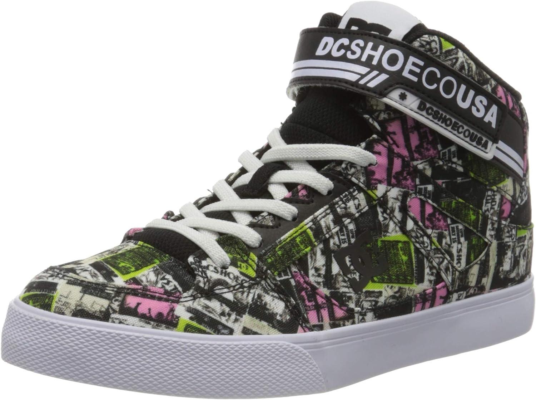Scarpe da Skateboard Bambino DC Shoes Pure High-Top TX Se Ev