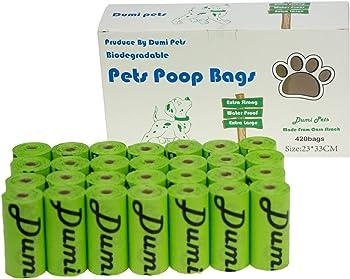 Bolsas biodegradables para residuos de perro Libre de BPA