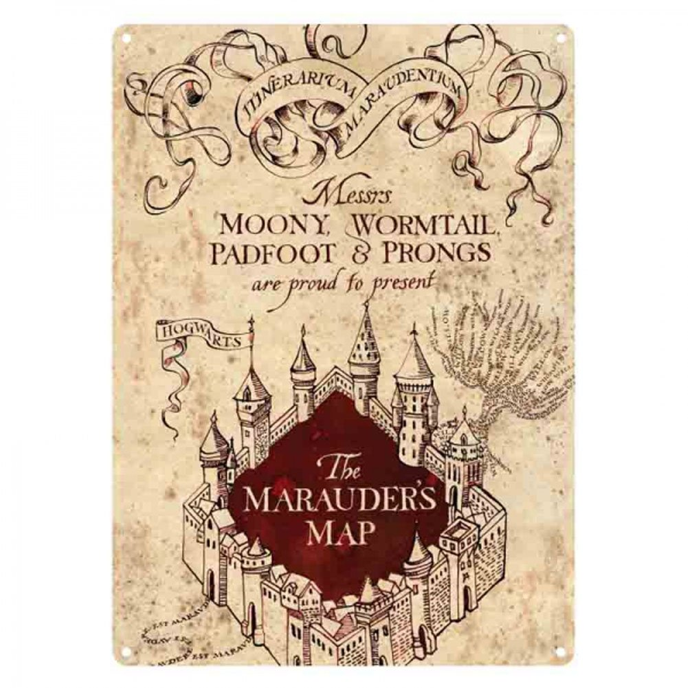 image regarding Marauders Map Printable titled HP - Marauders Map