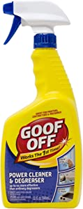 Goof Off Power Cleaner and Degreaser – 32 oz. Trigger Spray Bottle