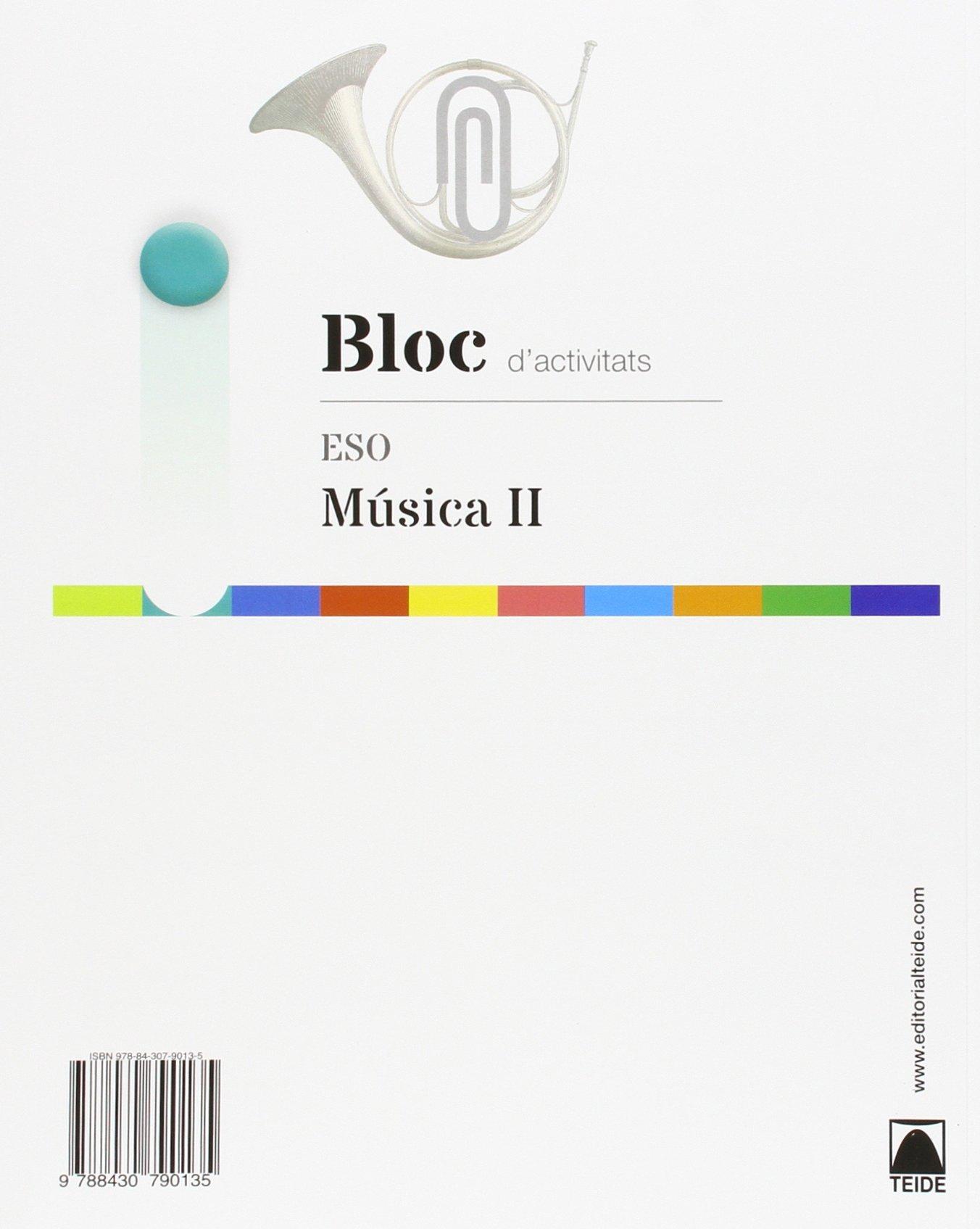Música II 2º Ciclo ESO: quadern dactivitats: VV.AA.: 9788430790135: Amazon.com: Books