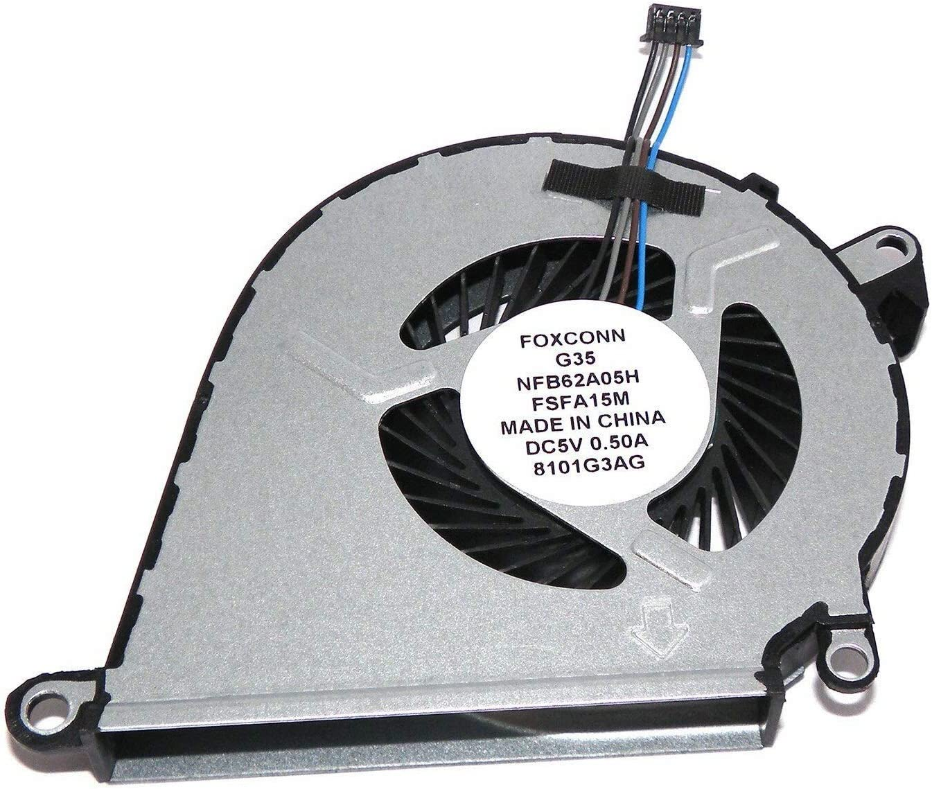 GIVWIZD Laptop Replacement CPU Cooling Fan for HP Omen 15-ax250wm 15-ax033dx 15-ax210nr 15-ax243dx 15-ax000na 15-ax000ne