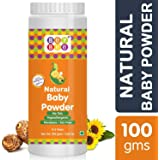 Bey Bee Natural Hypoallergenic, Parabens, Talc and SLS Free Dusting Powder for Babies, 100g