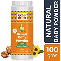 Bey Bee : Baby Powder for New Born Babies & Kids | No - Talc | Made-Safe Certified | Hypoallergenic | Parabens & SLS Free | Blossoms | Mild Fragrance | Each 100 GMS (Pack of 1)