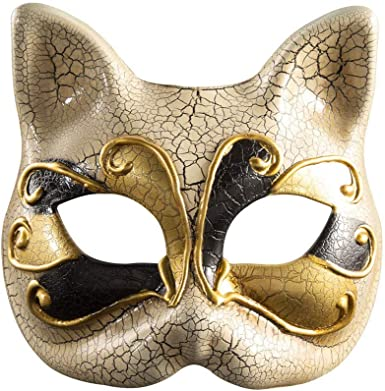 Fancy Dress eye Black Cat Mask Masquerade Halloween Party Costume Masks