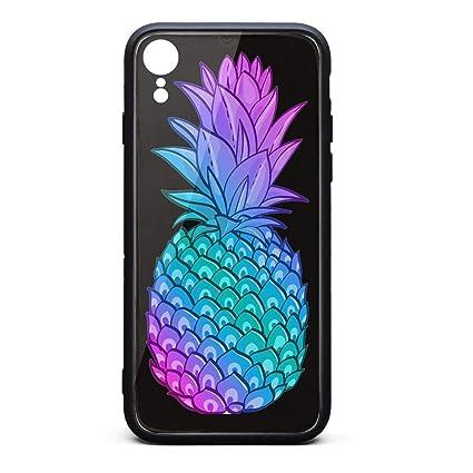 Amazon.com: Carcasa personalizada para iPhone XR Piña con ...