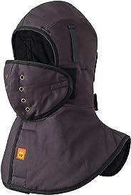 Pioneer V4512070-O/S FR Winter Long Neck Hard Hat Liner, Heavy-Duty, Detachable Mounthpiece Black, Fit All