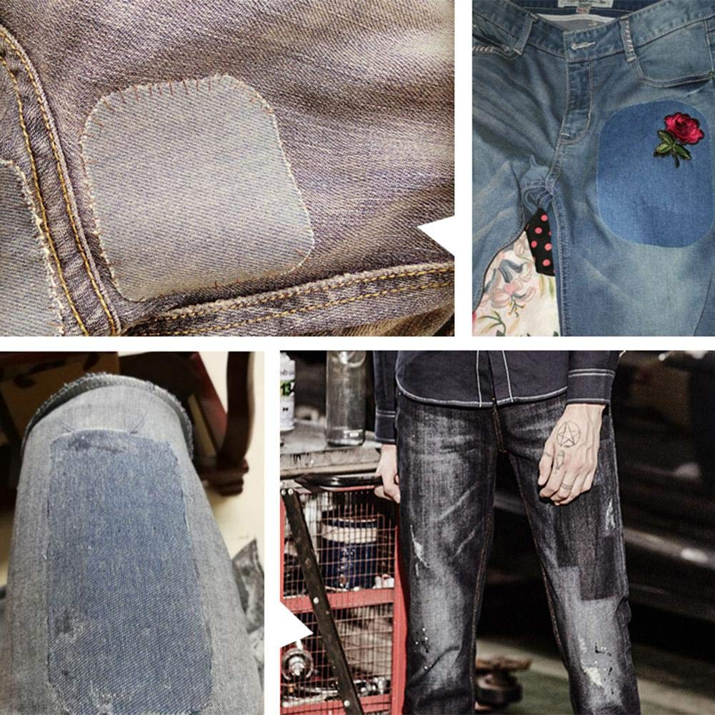 16 piezas de parches de mezclilla Diy de hierro y pantalones ...