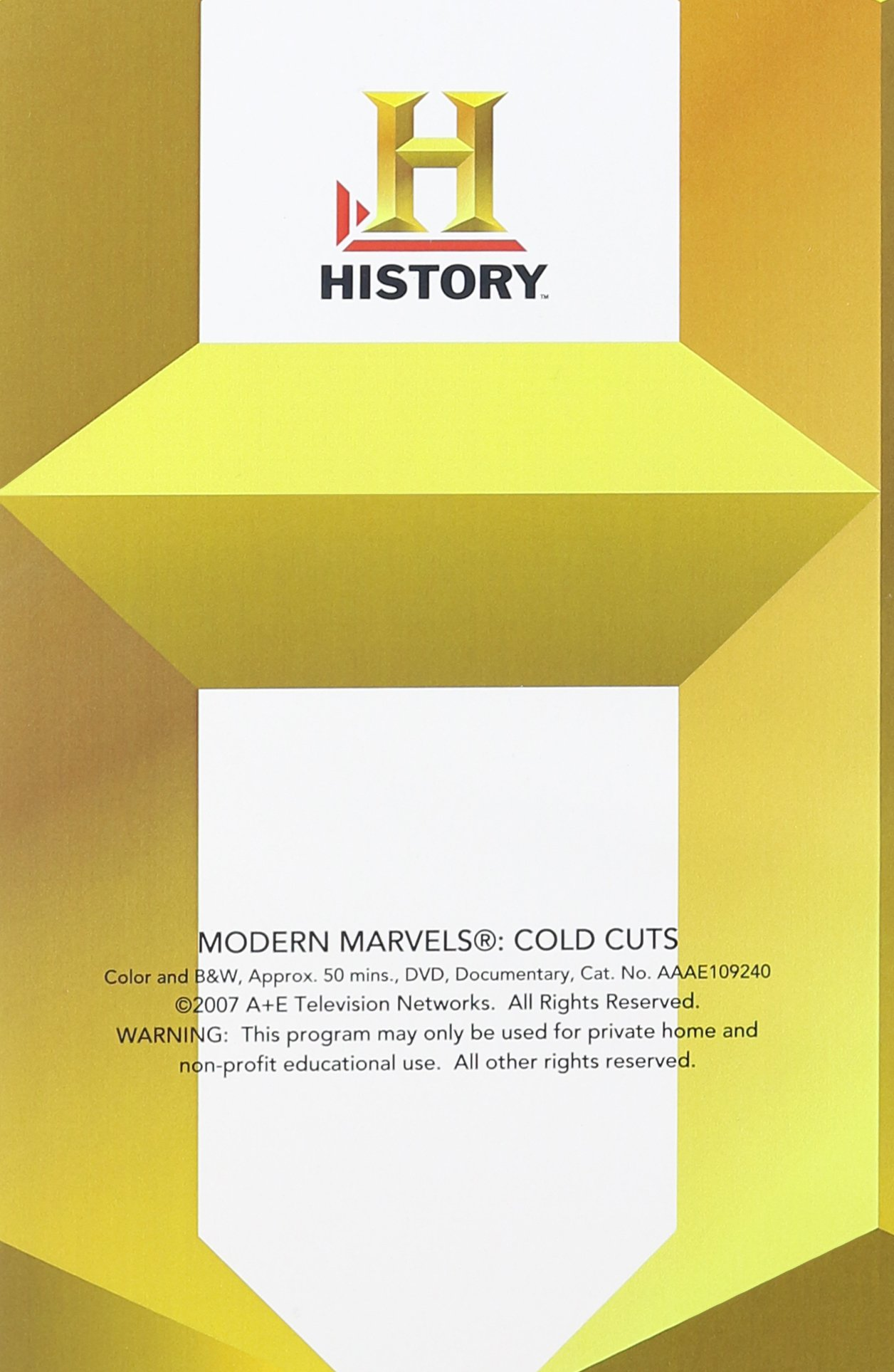 Modern Marvels: Cold Cuts