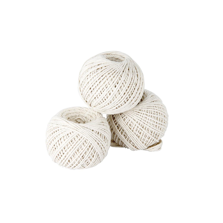 Greengeers 90604 Cotton String balls 65m Set of 3 GREENGERS