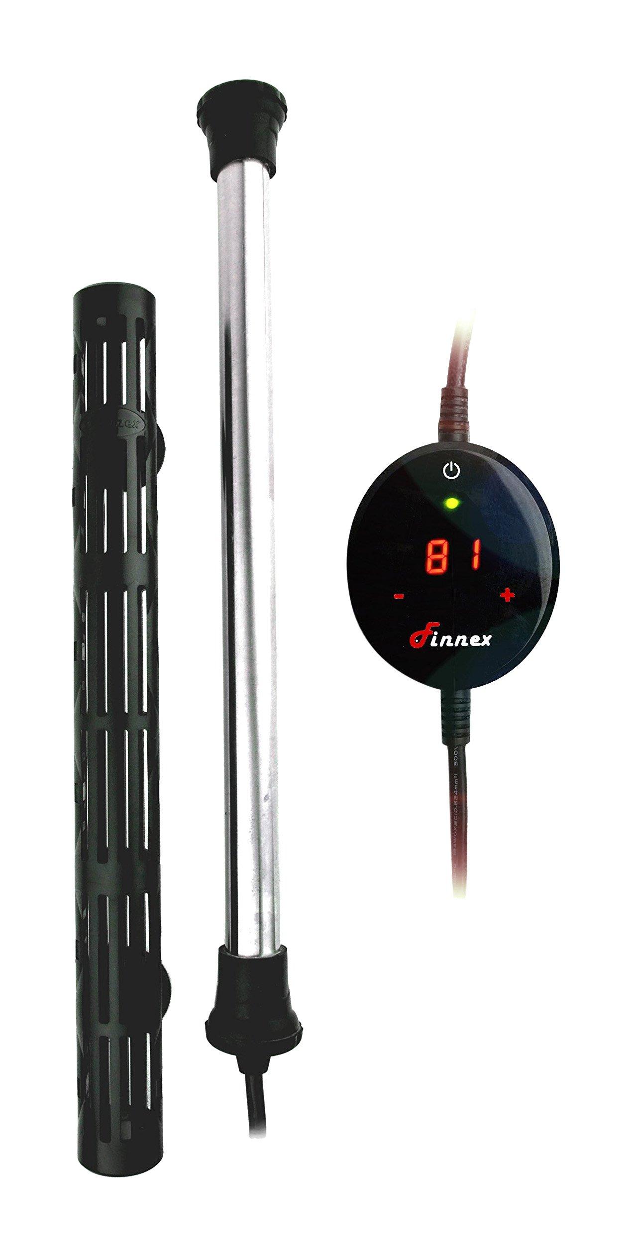 Finnex 50W Digital Touch Control Aquarium Titanium Heater Guard by Finnex (Image #1)
