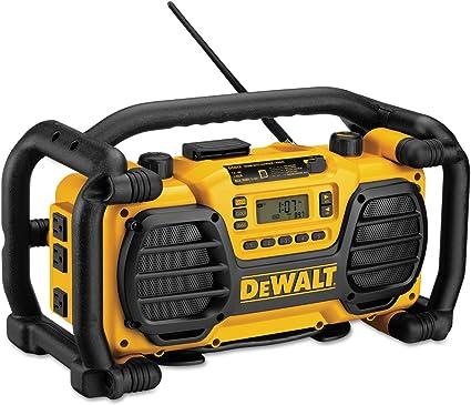 DEWALT DC012 Heavy-Duty Worksite Radio