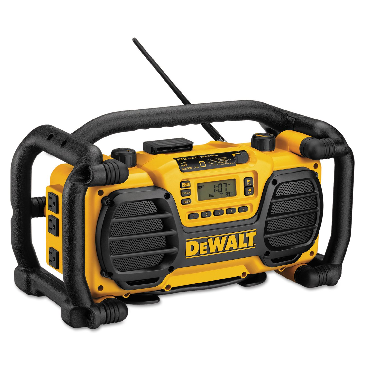 DEWALT Jobsite Radio and Battery Charger