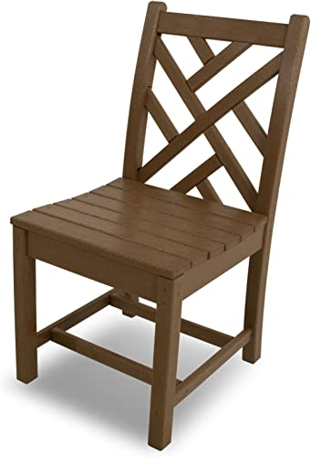 POLYWOOD CDD100TE Chippendale Dining Side Chair