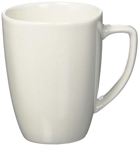cd6202f7cfa Coffee Cup Set by GIBSON Coffee Mug Set Stoneware Coffee Cups Fine Ceramic  Whiteware 8 pc set, NEW ITEM