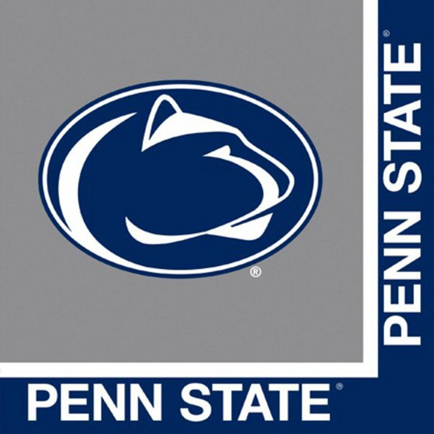 Penn State Nitty Lions Party Bundle Lunch Napkins (60)