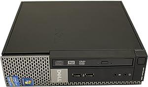 Dell OptiPlex 990 USFF Desktop Quad Core i5-2400s 2.50 GHz 4 GB RAM 320 GB HD DVD-RW Windows 7 Professional 64-Bit