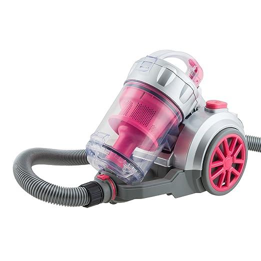 H.Koenig TC34 - Aspirador sin bolsa multiciclónico, Filtro HEPA, color rojo [Clase de eficiencia energética A]: Amazon.es: Hogar
