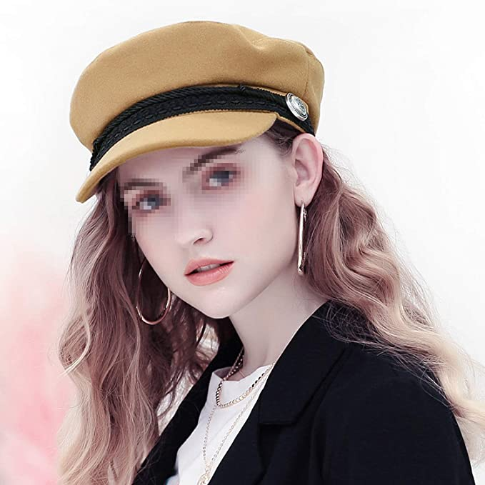 2018 Tendenza Cappelli Invernali per Le Donne in Stile Francese di Lana  Baker s Boy Hat Femminile Fresco Berretto da Baseball Nero Visiera Cappello  Gorras ... 9c3cd0c72145
